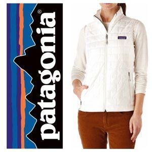New Patagonia Nano Puff® Vest in Birch White